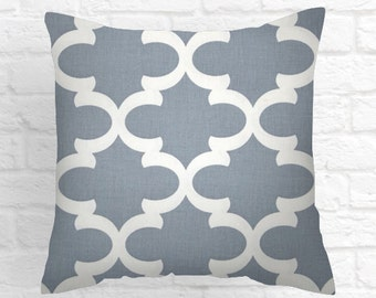 Cashmere Blue ,  Decorative Lumbar Pillows , Decorative Pillow Lumbar