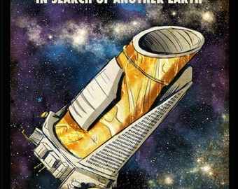 Kepler In Search of Another Earth Poster