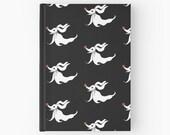 Nightmare Before Christmas Journal Zero Notebook Ghost Sketchbook Dog Skellington Black Diary Halloween Art Tim Burton Paper Book Movie Gift