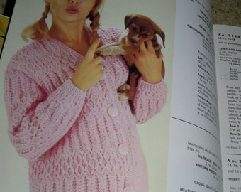 Campus Hand Knits by Bear Brand and Fleisher yarns