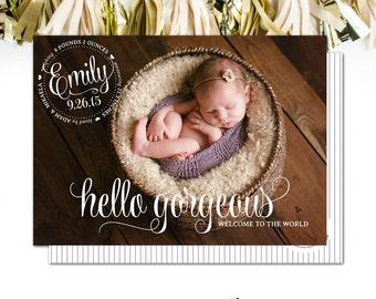 Hello Gorgeous! - It's a Girl!