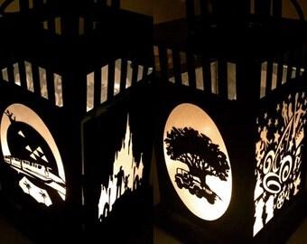 Disney Parks Inspired Metal Portable Lantern