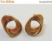 Gold-tone Post Earrings