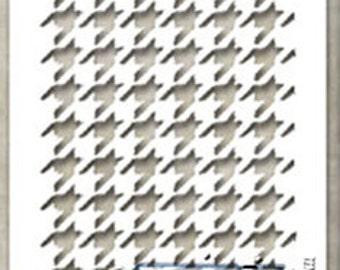 Stampers Anonymous - Tim Holtz - Houndstooth Stencil