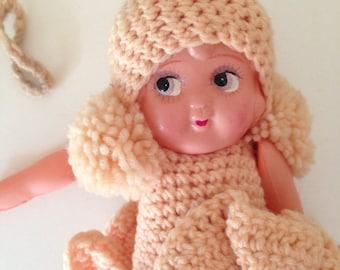 Vintage Celluloid doll pretty girl