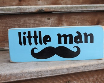 Little Man with mustache