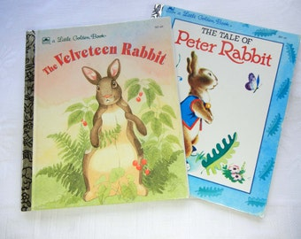 Storybooks About Bunny Rabbits : The Tale of Peter Rabbit and The Velveteen Rabbit Little Golden Books, Easter Stories