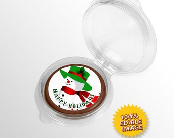 Happy Holiday Chocolate Coins (Pack of 24)