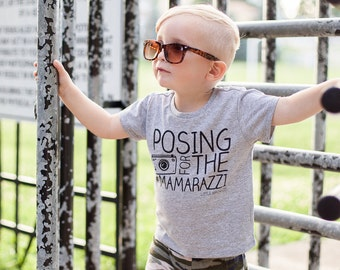 The ORIGINAL Posing for the Mamarazzi Tee