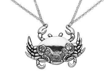 """Spoon Necklace: """"Crab"""" by Silver Spoon Jewelry"""