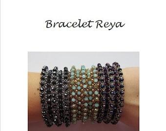 Beading Pattern Bracelet Reya PDF (English)