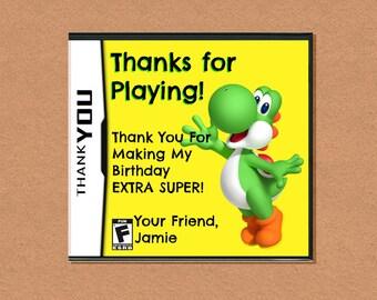 DIY Printable Video Game Thank You, Video Game Party, Gamer Birthday Party, Video Game Birthday, Customizable Thank You
