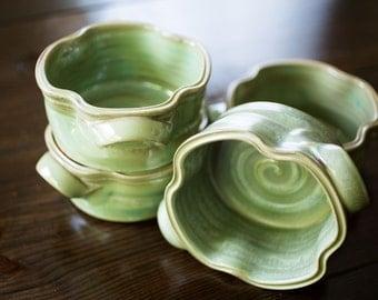 Soup Bowl with Handles (GT Glaze)