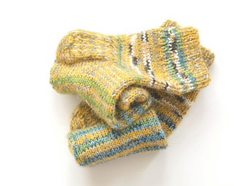 Women socks PEPERMINT / knitted socks / woolen socks / winter socks / warm socks / winter gifts / Christmas gifts / gifts for her