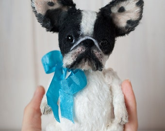 French Bulldog teddy pet. Sold!!! The work is presented as an example!