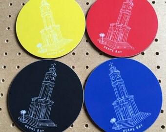 Herne Bay Clocktower Coasters
