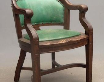 Vintage Leather Desk Chair