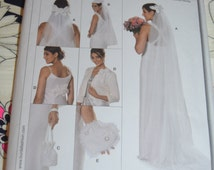 Burda 7673 Bridal Accessories Sewing Pattern - UNCUT -