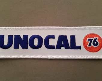 unocal 76 embroidered patch