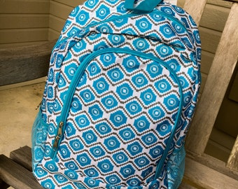 Backpack/Blue and Gray Dazzling Daze Backpack