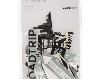 KaiserCraft Just Landed Die Cut Shapes
