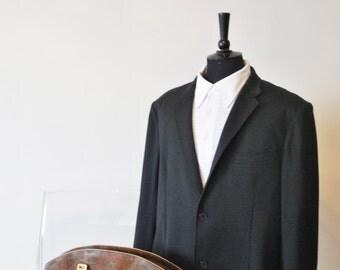 UNIQLO Black Blazer Jacket, sz. 54