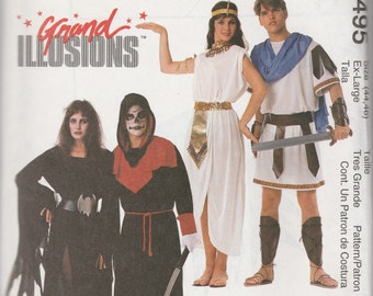 McCall's 9495 (44,46) Grand Illusions Costumes 1998 UnCut