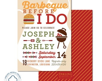 BBQ Before I Do | Wedding Party, Engagement Party, Couples Shower