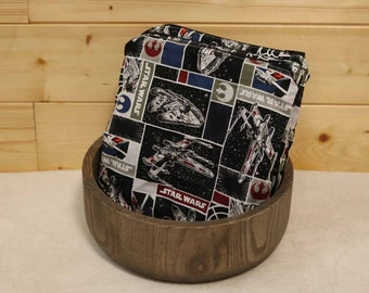 One Sandwich Bag, Reusable Lunch Bags, Waste-Free Lunch, Machine Washable, Star Wars, Sandwich Sacks, item #SS98
