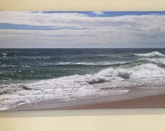 Canvas Ocean Print