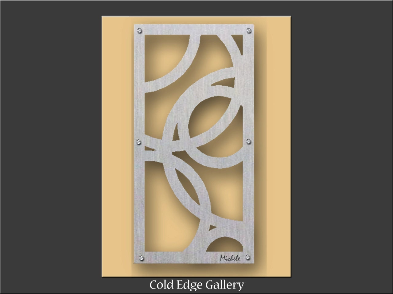 Metal wall art unique wall art decor abstract for Unusual wall art