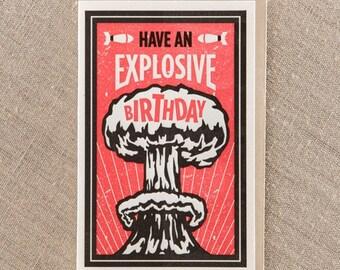 Explosive Birthday