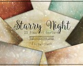 Starry Night - Fine Art Textures, Photoshop Textures
