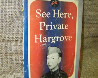 See Here Private Hargrove Army Humor Best Seller Book