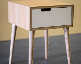 Plywood Bedside Table