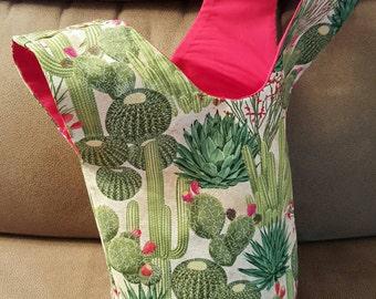 Cactus Japanese Knot Bag