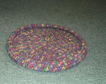 Crochet Cat/Small Pet Bed