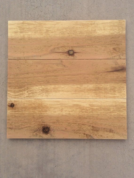 Rustic pallet canvas redwood diy wooden canvas wood for Diy blank canvas