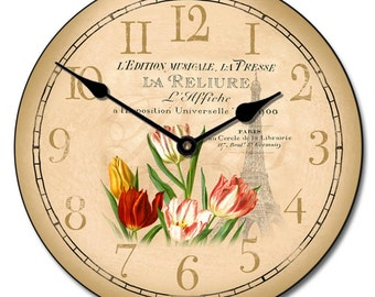 Springtime In Paris Wall Clock