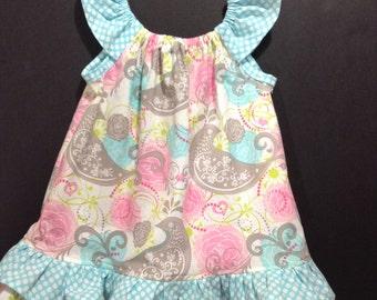 GIRLS SUMMER DRESS, flutter dress, girls clothing