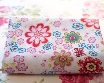 Fat Quarters ~ FQ ~ Japanese Flowers ~ Floral ~ Cotton ~ 100% Cotton