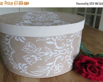 15% SALE Gift box Cake Stand Hat Box Unique Present Wrapping
