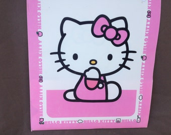 hello kitty cute folder pink
