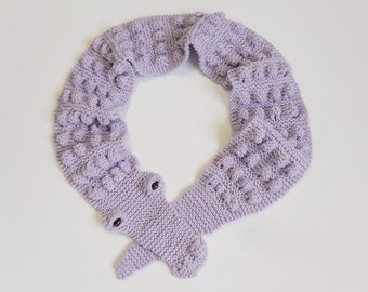 Knit / Alligator Scarf