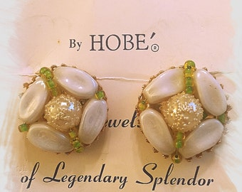 HOBE Earrings with Original Tag and Card