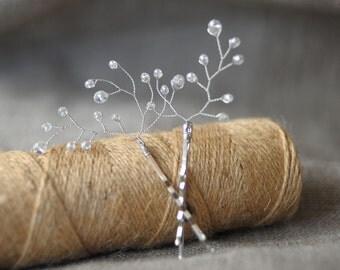 Crystal hair clip Bridal Hair Piece clear clips hair Pin rhinestone hair clip crystal hair pins bridesmaid hair pin wedding hair clip