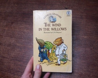 The wind in the Willows by Kenneth Grahame // vintage 1970's childrens story book // paperback