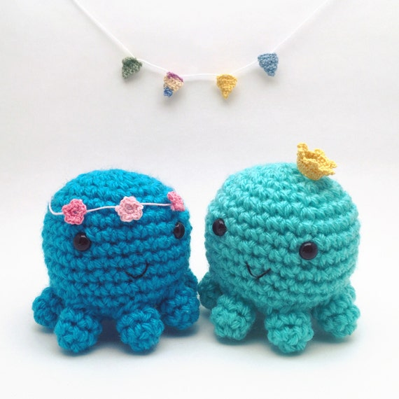 Mini Amigurumi Octopus : Mini amigurumi octopus crochet octopus octopus toy stuffed