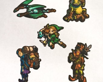 Legend of Zelda: Majora's Mask Iron-On Patches - Limited Stock