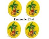 UNCUT ABC Palm tree applique embellishment felties (4)